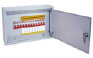 Схема квартирного электрощита