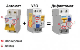 Как подобрать дифавтомат по мощности