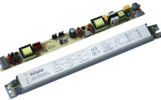 Как проверить балласт для люминесцентных ламп