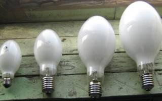 Принцип работы лампы дрл