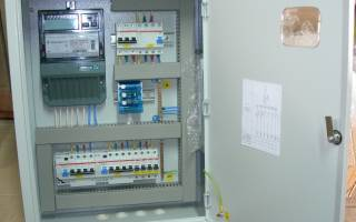 Сборка щита учета электроэнергии 220в своими руками