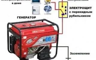 Переключатель сеть генератор