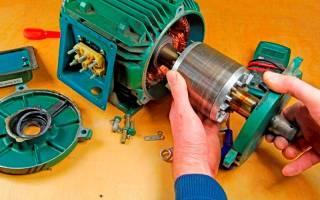 Неисправности асинхронных электродвигателей и способы их устранения