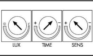 Как настроить прожектор с датчиком движения