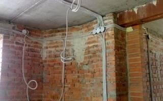 Как протянуть проводку в квартире