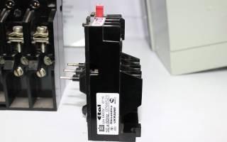Как подобрать тепловое реле для электродвигателя 380в