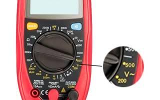 Как проверить фазу мультиметром