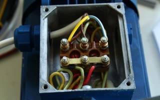 Работа трехфазного асинхронного двигателя от однофазной сети