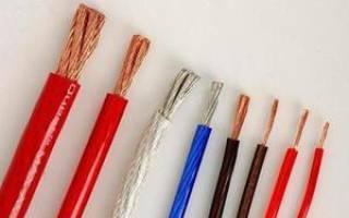 Как определить сечение кабеля по мощности