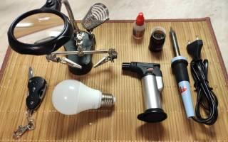 Как починить светодиодную лампу