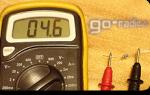 Как мерить сопротивление мультиметром