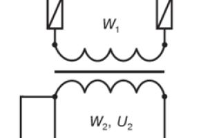 Подключение амперметра через трансформатор тока схема