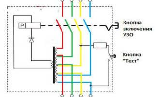 Как подключить узо в трехфазной сети