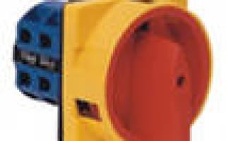 Обозначение кнопки на электрической схеме