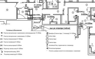 Обозначение выключателя на схеме