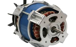 Схема подключения асинхронного электродвигателя