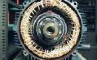 Разборка асинхронного двигателя