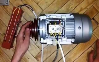 Расчет емкости конденсатора для трехфазного двигателя