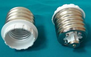 Классификация ламп освещения