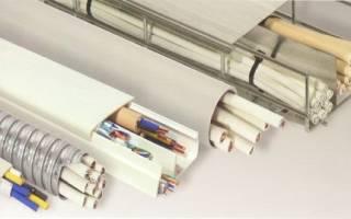 Правила прокладки кабелей в помещениях