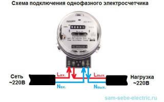 Как подключить электрический счетчик