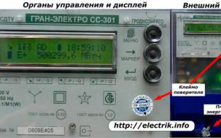 Принцип работы счетчика электроэнергии