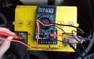 Как замерить силу тока аккумулятора мультиметром
