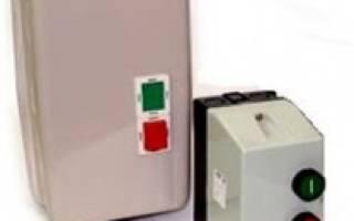 Как подключить тепловое реле к магнитному пускателю