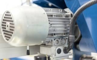 Схема реверсивного пуска двигателя