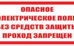 Предписывающие плакаты по электробезопасности