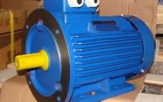 Номинальная мощность электродвигателя