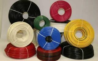 Как выбрать сечение провода по мощности