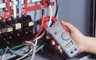 Клещи электрические измерительные