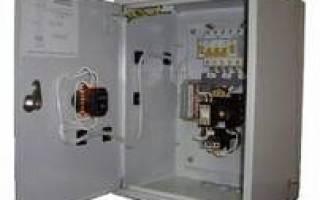 Тепловая защита двигателя асинхронного