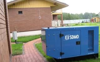 Подключение генератора к домашней сети