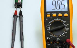Как замерить напряжение мультиметром