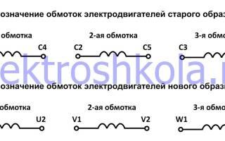 Как определить обмотки трехфазного двигателя