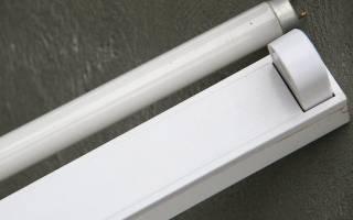 Ремонт светильников с люминесцентными лампами